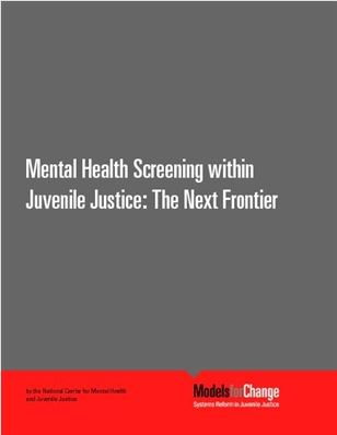MH Screening Juvenile Justice